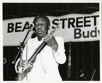 Muddy Waters at the Beale Street Music Festival, 1981