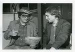 Jim Dickinson and Alex Chilton, 1980