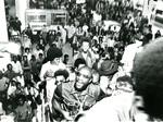 Isaac Hayes at the Memphis Airport, 1972