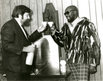 Isaac Hayes with Herb Cole, 1970