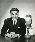 George Klein, disc jockey, 1956