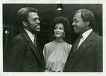 LeMoyne-Owen College President Dr. Walter Walker with Effi and Marion Barry, 1980