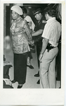 Cornelia Crenshaw being arrested for protest at a Memphis City Council meeting, 1980