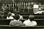 LeMoyne-Owen College Choir at Memphis City Hall, Memphis, Tennessee, 1977