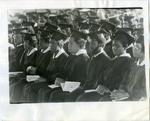Commencement ceremony, LeMoyne-Owen College, Memphis, Tennessee, 1976