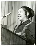 Eleanor Benson, President of the LeMoyne-Owen College Alumni Chapter, Memphis, Tennessee, 1976