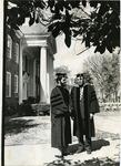 LeMoyne-Owen College President Dr. Walter Walker and Dr. Herman Long, Memphis, Tennessee, 1975