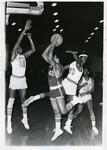 LeMoyne-Owen College basketball players, Memphis, Tennessee, 1975