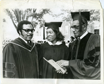 Commencement at LeMoyne-Owen College, Memphis, Tennessee, 1974