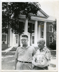 Dr. Hollis F. Price and Dr. Peter Cooper at LeMoyne-Owen College, Memphis, Tennessee, 1969