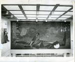 LeMoyne College library mural, Memphis, Tennessee, 1963