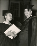 Dr. Hollis Price and Martha Reaves, LeMoyne College, Memphis, Tennessee, 1963