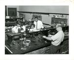 Chemistry class at LeMoyne College, Memphis, Tennessee, 1961