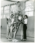 Dr. Hollis Price and students at LeMoyne College work day, Memphis, Tennessee, 1960