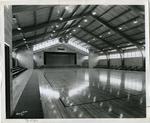 Gymnasium in Bruce Hall at LeMoyne College, Memphis, Tennessee, 1955