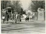 Memphis Zoo entrance, Memphis, Tennessee, 1963