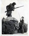 Armistice Day salute, Memphis, 1939
