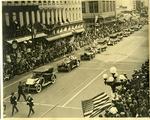 Armistice Day parade, Memphis, 1924