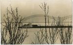 Mississippi River scene, Memphis, 1980