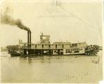 M.E. Norman steamboat, 1925