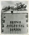 Memphis Zoological Garden entrance, Memphis, TN, 1968