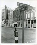 Corner of Front Street and Gayoso, Memphis, TN, 1971