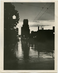 Sterick Building at night, Memphis, Tennessee, 1954