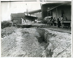 Street erosion, Memphis, TN, 1929