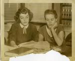 Carolyn Bryant and Juanita Milam, 1955