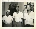 Amanda Bradley, Willie Reed and Walter Reed, 1955