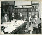 Defense team in the Emmett Till murder trial, 1955