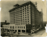 Construction of the Peabody Hotel, Memphis, Tennessee