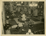 The Lobby of the Peabody Hotel, Memphis, Tennessee, circa 1930