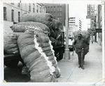 """Cotton Row"" Front Street, Memphis, TN, 1973"