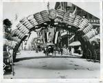 Cotton Bale Arch, Memphis, TN, circa 1890