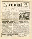 Triangle Journal, volume 1, number 1