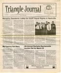 Triangle Journal, volume 1, number 2