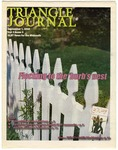 Triangle Journal, volume 3, number 10