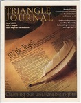Triangle Journal, volume 4, number 6