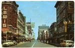 Main Street, Memphis, circa 1957