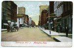 Main Street, Memphis, circa 1905