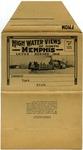 High Water Views of North Memphis postcard folder, 1913