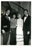 Harold and Patricia Shaw with Governor Winfield Dunn and Betty Dunn