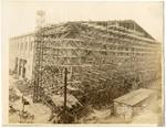 Memphis Auditorium under construction, 1924 by C. H. Poland