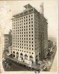 Claridge Hotel under construction, Memphis, 1923 by C. H. Poland