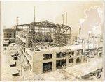 Memphis Auditorium under construction, 1923 by C. H. Poland
