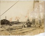 Memphis Central Station under construction, circa 1912