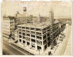 Claridge Hotel under construction, Memphis, 1923