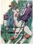 East High School vs Kingsbury High School football program, Memphis, 1966