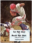 East High School vs Messick High School football program, Memphis, 1966